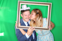 East End Entertainment DJs Photo booth Green screen Bride and Groom 2 0617 green screen