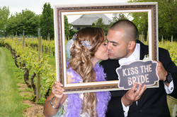 East End Entertainment DJs Photo booth Green screen Bride and Groom 1 0617