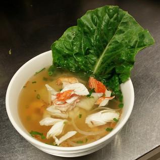 #12. Seafood Noodles Soup