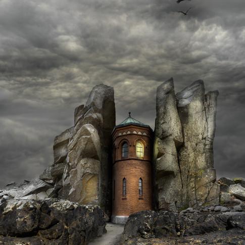Tornet mellan klipporna.
