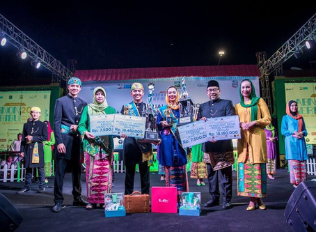 Nicholas Benito & Datanya Nuga Kalula Dinobatkan Menjadi Abang None Jakarta Kepulauan Seribu 2018