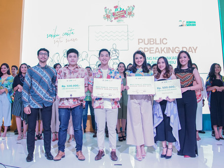 Seribu Cerita Satu Suara untuk Jakarta di Public Speaking Day Abnon Seribu 2019