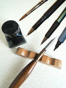 Calligraphy Equipment With Ink-pot