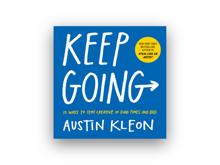 "{Notes} ""Keep Going"" book"