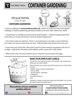 Container Gardening & DIY Plant Labels