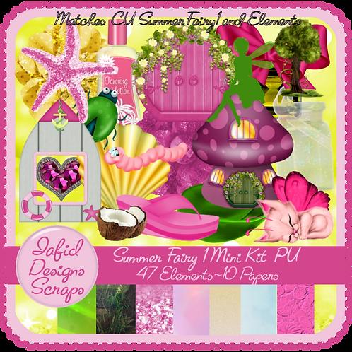 Summer Fairy 1 Mini Kit PU
