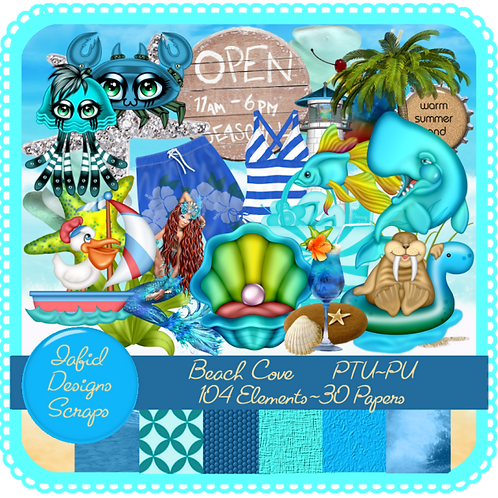 Beach Cove Tagger Kit PU