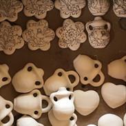 Corund - pottery village