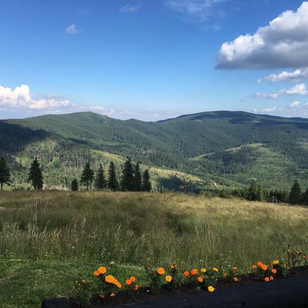Harghita mountains
