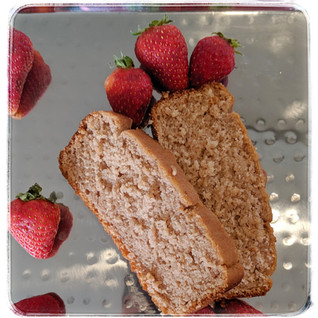 Strawberry Coconut Bread to Celebrate the Holidays (Dairy & Gluten Free)