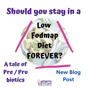 Should you stay in a low FODMAP diet forever? a tale of prebiotics and probiotics