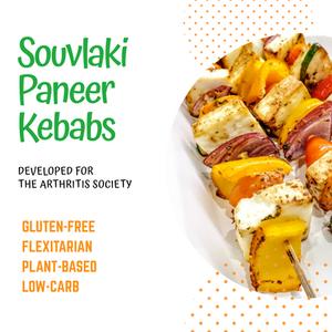 Summertime Recipe: Souvlaki Paneer Kebabs