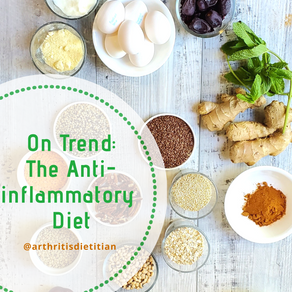 On Trend: The Anti-inflammatory Diet & Arthritis. Is there a connection?