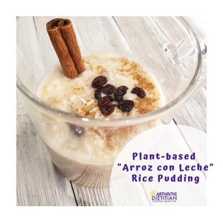 "Plant-Based Rice Pudding ""Arroz Con Leche"""
