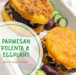 Nightshade Spotlight: Parmesan Polenta and Eggplant