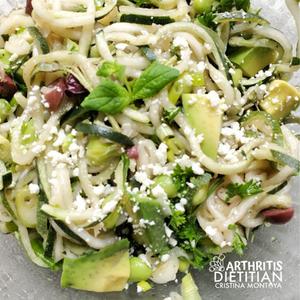 Sjögren-Friendly Zucchini Salad Bowl