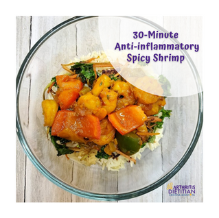 30-Minute Anti-inflammatory Spicy Shrimp