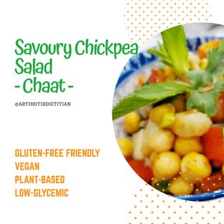 Savoury Chickpea Salad (Chaat)