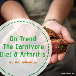 On Trend: Is the Carnivore Diet an Option for Arthritis?