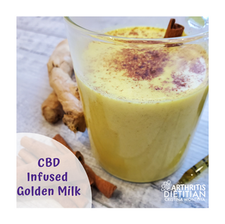 The Arthritis Dietitian's Cannabis Journey While Enjoying CBD-Infused Golden Milk