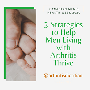 3 Strategies to Help Men Living with Arthritis Thrive