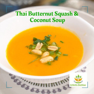 Thai Butternut Squash and Coconut Soup to Soothe your Soul