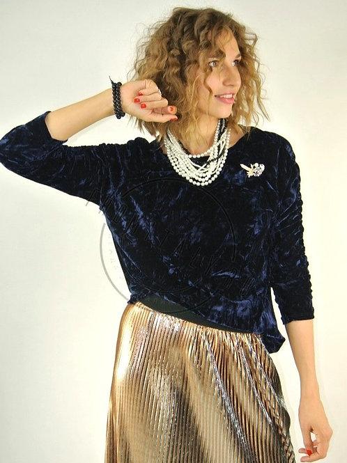 Блузка  бархатная Susy Mix