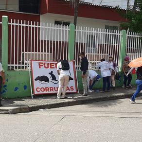 EXTRABAJADORES DEL HUS PIDEN EL PAGO DE LOS SUELDOS ADEUDADOS