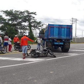 ACCIDENTES EN MOTOCICLETA