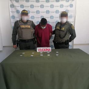 CAPTURADOS CON DROGAS EN LA ZONA SUR