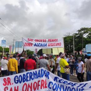 NO CESAN LAS PROTESTAS EN SAN ONOFRE