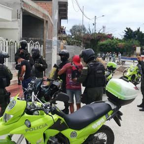 POLICÍA DE SUCRE ENTREGA BALANCE OPERACIONAL DEL PUENTE FESTIVO