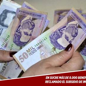 MÁS DE 8.000 BENEFICIARIOS NO HAN RECLAMADO EL SUBSIDIO