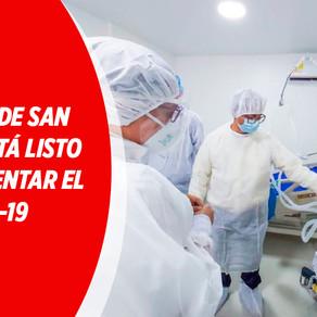 HOSPITAL DE SAN MARCOS ESTÁ LISTO PARA ENFRENTAR EL COVID-19
