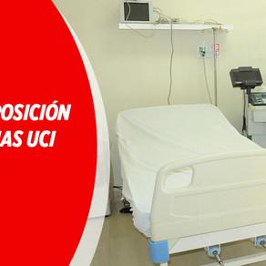 HABRÁ DISPOSICIÓN DE 53 CAMAS UCI