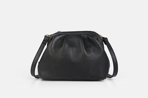 CRAZY LOU, mini sac Dita, noir