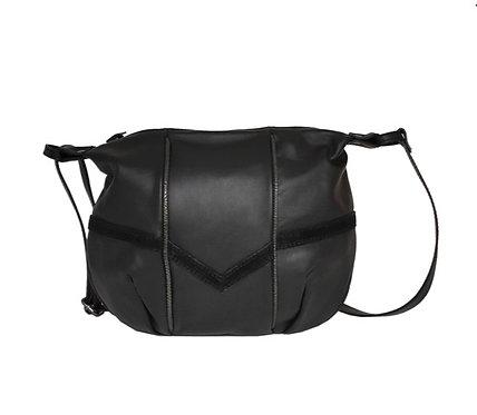 LÉA TONI, sac Faustine, noir