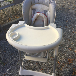 Chaise haute à disposition sur place