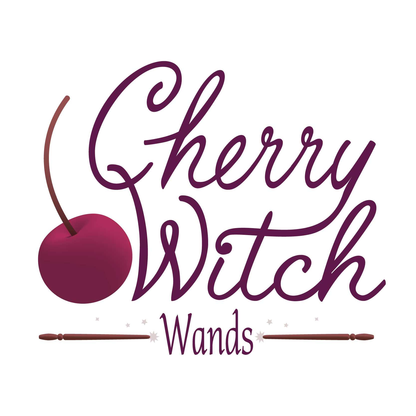 Cherry Witch Wands