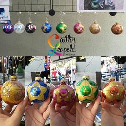Sailor Moon ornaments