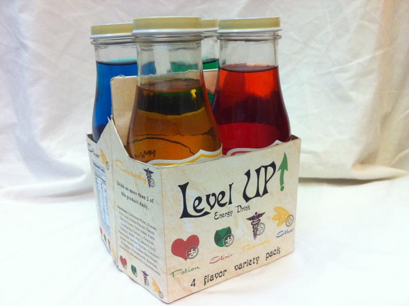 Level UP! Packaging design 2