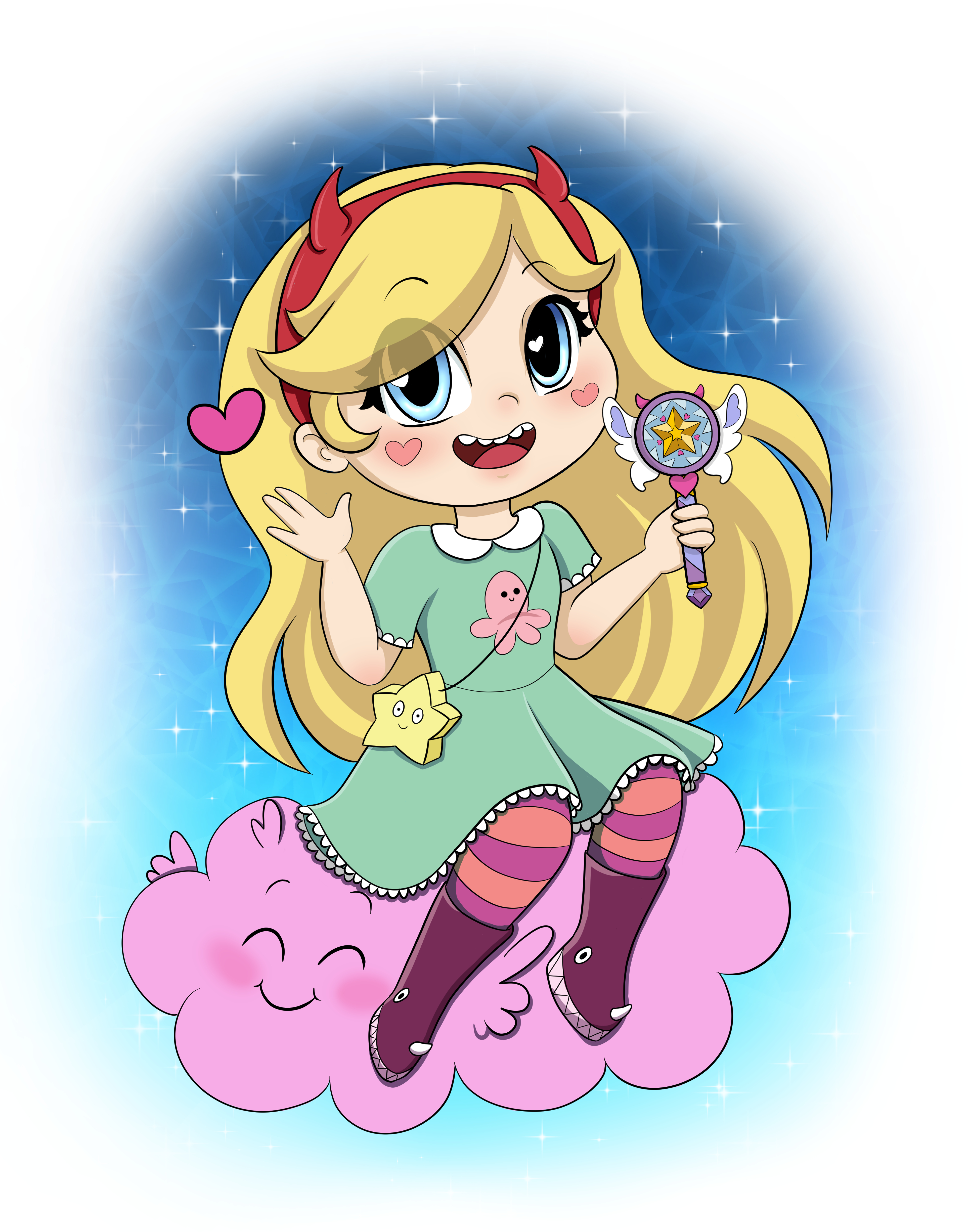 Star Butterfly - octo