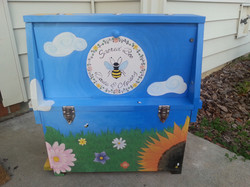 Observation Hive (front)