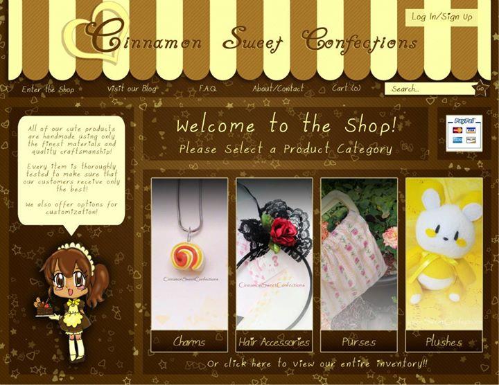 Electronic design: CSC Shop page