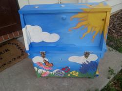 Observation hive (back)
