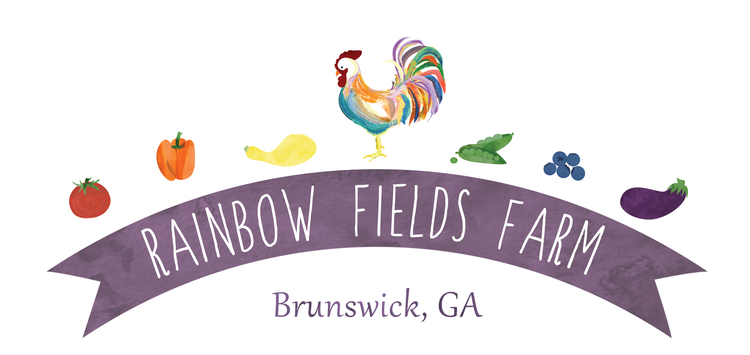 Rainbow Fields Farm logo