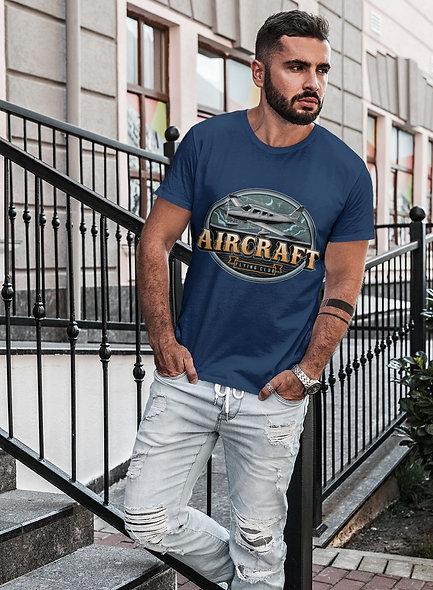 Aircraft Flying ClubShort-Sleeve Unisex Sexy T-Shirt