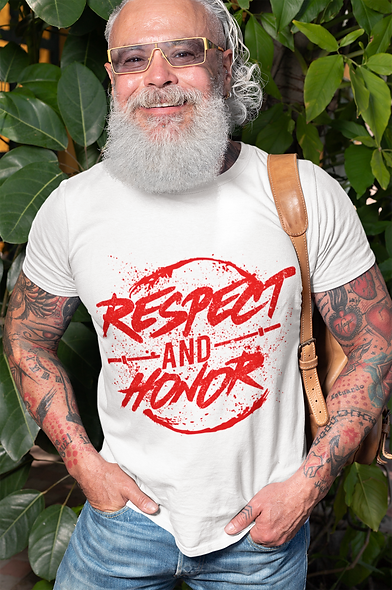 Respect and Honor Short-Sleeve Unisex T-Shirt