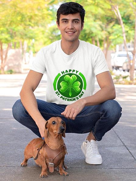 Happy Irish St. Patrick Day Short-Sleeve Unisex T-Shirt