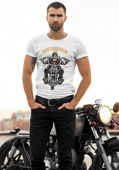 Broterhood Rider Wild Ride Short-Sleeve Unisex T-Shirt